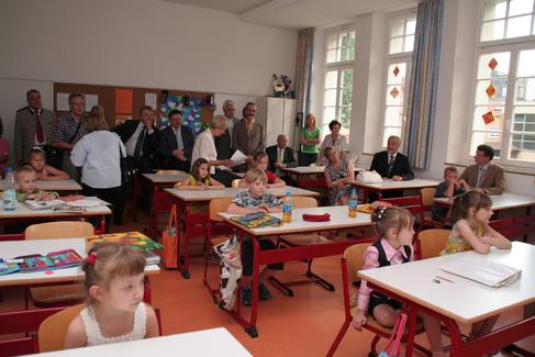 Städteranking - Nachmittagsbetreuung Friedenschule