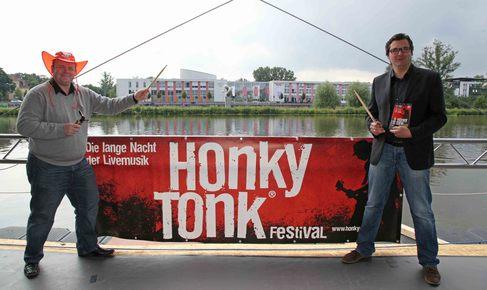 Honky Tonk 2013 - PK mit Gary Wilson und Ralf Hofmann - Foto (c) Stefan Pfister