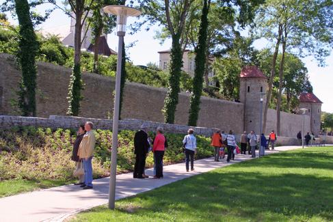 Stadtmauer am Wall 2009 - Foto Stefan Pfister