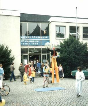 Volkshochschule historische Aufnahme Friedrich-Rückert-Bau