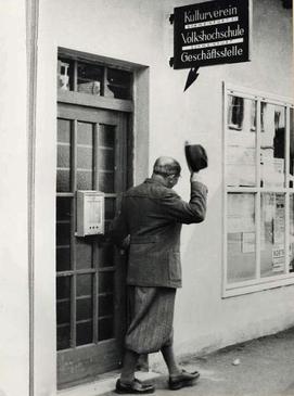 Volkshochschule historische Aufnahme Kulturverein GS