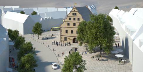 Zeughaus Architektenwettbewerb - 1. Preis Rudolff, Wild und Partner SW