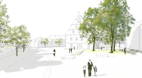 Zeughaus Architektenwettbewerb - 2. Preis Tusker Ströhle Freie Architekten Stuttgart
