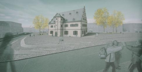 Zeughaus Architektenwettbewerb - 3. Preis Hetterich Architekten WÜ