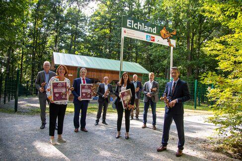 Wildpark EhrenElchBäckerMeisterBrief für Hauptsponsoren - Foto (c) Stefan Pfister (1)