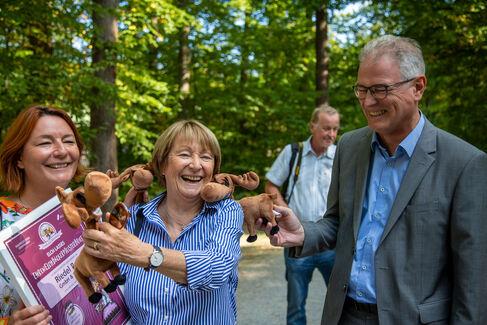 Wildpark EhrenElchBäckerMeisterBrief für Hauptsponsoren - Foto (c) Stefan Pfister (11)