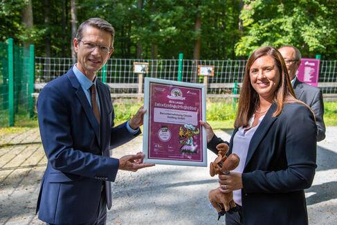 Wildpark EhrenElchBäckerMeisterBrief für Hauptsponsoren - Foto (c) Stefan Pfister (8)
