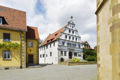Altes Gymnasium, important building of the German Renaissance of 1582/83