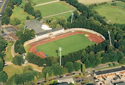 Stadion Luftbild Müller, Copyright Stadt Schweinfurt