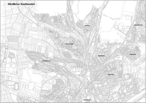 Übersichtsplan_Nördlicher Stadtbereich