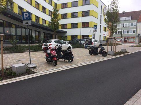 Motoradstellplatz Hadergasse