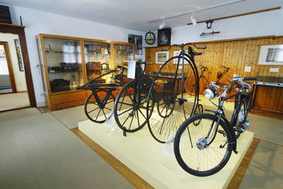 Altes Gymnasium, Museum - bicycle development