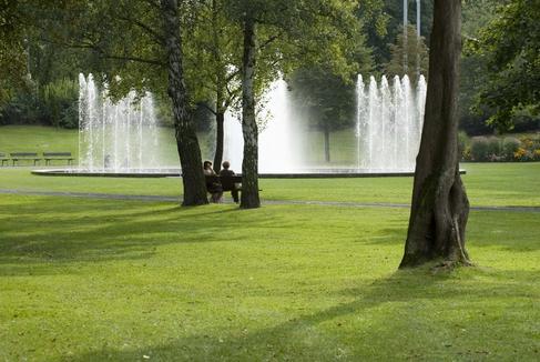 Springbrunnen am Eingang der Wehranlagen_Hub