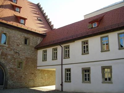 Ebracher Hof Innenhof 2