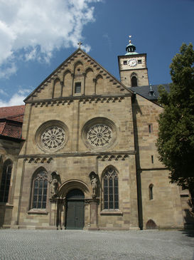 St. Johannis Church with a stylistic mix of different eras is visible, Photo: Barbara Wachter