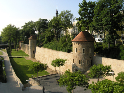 Stadtbefestigung Unterer Wall Fotograph_Hans Hatos