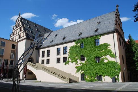 Rathaus Freitreppe, Foto: Andreas Hub