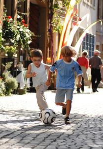 Zwei Jungs im Zuerch, Foto: VolkerMartin
