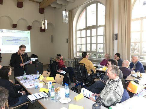 zu Nr. 53, Fortschritte bei der Erstellung des Aktionsplans Barrierefreies Schweinfurt 2025