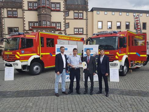 Feuerwehr bekommt zwei neue Einsatzfahrzeuge