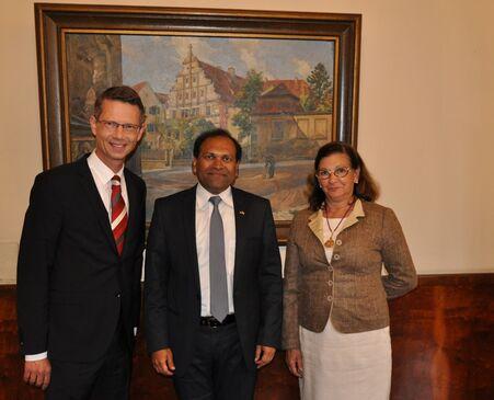 Empfang indischer Generalkonsul