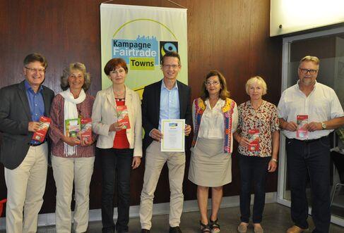 Titelerneuerung-Schweinfurt ist weiterhin Fairtrade-Stadt
