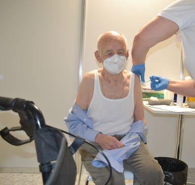 Impfung Wolfgang Kunkel