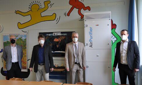 Luftreinigungsgeräte für virenfreie Luft