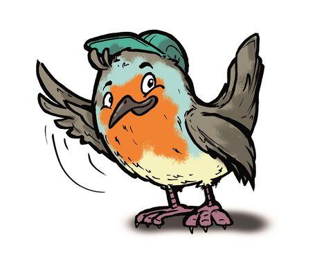 Naturkundliches Vogelmuseum_Robin