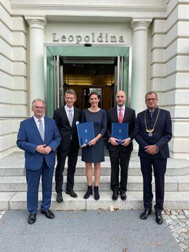 Leopoldina verleiht Carus-Medaillen ? Oberbürgermeister Remelé trifft in Halle künftige Carus-Preisträger