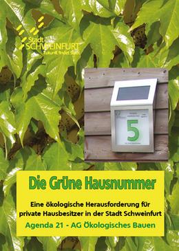 Grüne Hausnummern