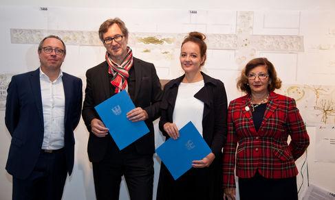 Carusallee 2017 Preisträger 1. und 2. Preis