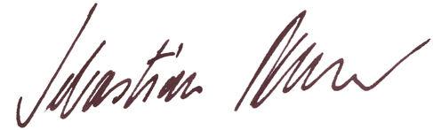 Unterschrift Remelé schwarz