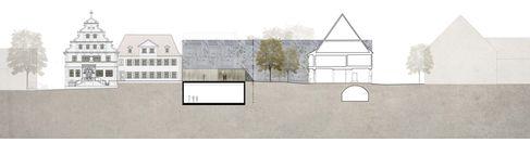 Kulturforum Entwurf 1. Preisträger Schnitt Veranstaltungssaal - Foto (c) Heinle, Wischer und Partner Freie Architekten Köln