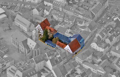 Kulturforum Luftaufnahme - Bild1-SW_Abbruch_Blau_Grenze - Foto (c) Stadt SW
