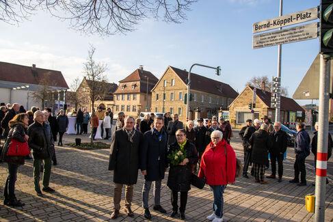 Bernd-Köppel-Platz Einweihung - Foto (c) Stefan Pfister (9)
