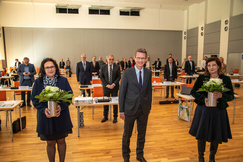Stadtrat konstituierende Sitzung 2020-2026 - Foto (c) Stefan Pfister (15)