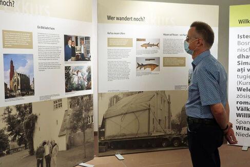 Made in Schweinfurt Ausstellung 2020 Eröffnung - Altes Rathaus - Foto Johanna Körner (1)