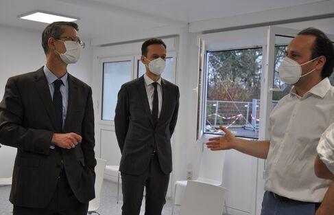 Inbetriebnahme durch Oberbürgermeister, Landrat und 21Dx GmbH