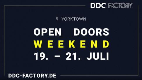 DDC Factory - Open Doors Weekend
