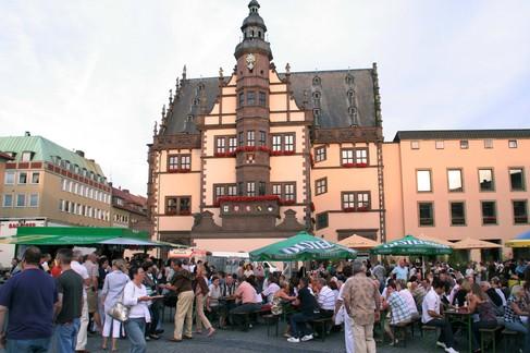 Bürgerfest Marktplatz - Foto Stefan Pfister